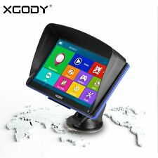 "XGODY 886 7"" Pantalla Táctil Navegador GPS Coche 8GB USB EU Mapa FM Transmisor"