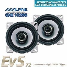 Coppia Casse Coassiali 2 Vie 10cm Alpine 180W per Fiat Punto 2003>'06 Posteriori