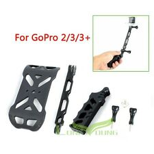 Aluminum Tactical Handheld Grip +Stand+ Extender Tripod  for gopro Hero4/3+/3