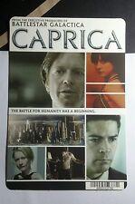 BATTLESTAR GALACTICA CAPRICA TV PHOTO MINI POSTER BACKER CARD (NOT a dvd movie )