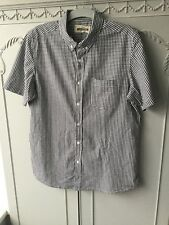 Jacamo Size L Black Mix Check 100% Cotton Shirt Exc Cond
