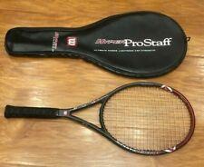Wilson Hyper Pro Staff 5.0 Midplus 95 TENNIS Racket 4 5/8 Midsize Tour 90 85 97