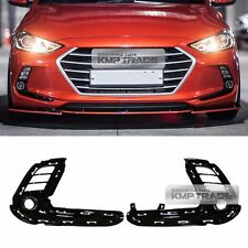 OEM Bumper Fog Light Lamp Cover Trim 4Hole Type LH RH for HYUNDAI 17-18 Elantra