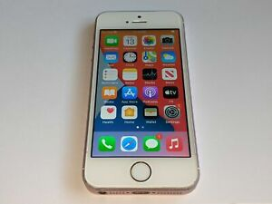 Apple iPhone SE A1723 64GB Pink/White Sprint Wireless Smartphone/Cell Phone