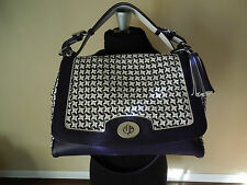 COACH 23411Legacy Caning Leather Romy Top Handle Shoulderbag,Purse