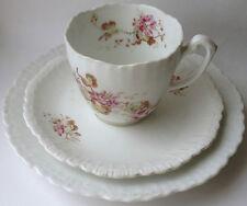 KPM Antique Porcelain Tea Cup & Saucer & Plate Kristef Porzellan Manufaktur
