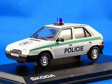1/43 SKODA FAVORIT 136L, Tschechoslowakische Polizei, 1988, NEUHEIT