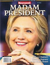PHOTO of Cover Newsweek Madam President ACTUAL SIZE Magazine Hillary Clinton