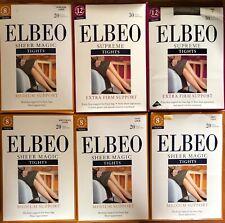 6 Pairs Mixed Lot  Elbeo Tights pantyhose Large