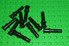 LEGO - TECHNIC - Pin Long W/ Ridges & Stop Bush, BLACK x 10 (32054) TK1129