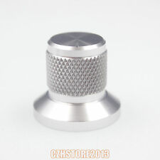 25x22mm aluminum potentiometer knob for audio amplifier volume control DIY x2