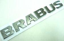 "CHROME LOGO "" BRABUS "" MERCEDES BENZ SIGN EMBLEM EMBLEMS DECAL CAR PARTS CLS V.1"