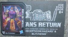 Transformers Titans Return BLITZWING Bio Card and Manual
