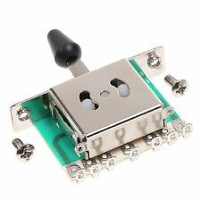 Toggle Guitar Parts 5 Way Lever Switch Electric Guitar With PCB Circuit Board