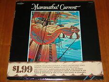 MARANATHA! CURRENT - VARIOUS CHRISTIAN ARTISTS - 1979 RARE STILL SEALED LP ! ! !