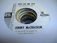 Rockabilly Promo 45 JIMMY MCCRACKLIN Just Let Me Cry on Imperial (Promo)