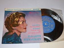 "ELISABETH SCHWARZKOPF - Sings Operetta - 1959 UK 4-track 7"" vinyl EP"
