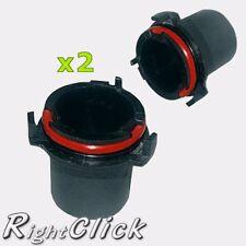 2x Vauxhall Astra MK4/G 98-04 H7 HID Bulb Holders Base Adapto (PAIR-N40)