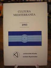 (PETROSINO-ARCEOLOGIA) CULTURA MEDITERRANEA  1993