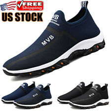 Men's Casual Slip on Tennis Shoes Outdoor Walking Athletic Running Sneakers Gym