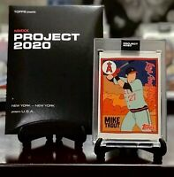 ⚾️Topps Project 2020 - 2011 Mike Trout #63 - by Fucci - In hand with box⚾️