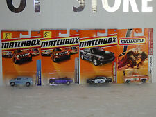 MATCHBOX  4 CARS, 58,72,22,92 . 1/64