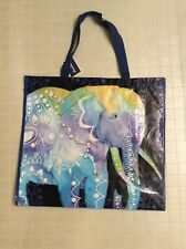 NEW Elephants Shopping Tote Bag Reusable Eco Friendly Marshalls Bag NWT