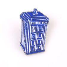 Doctor Who TARDIS Blue Police Box Enamel Lapel Pin Badge/Brooch Sci Fi Gift BNWT