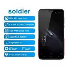 ELEPHONE SOLDIER DECA Core RUGGED PHONE 5000mAh Android 8.0 4GB/128GB Helio X25