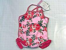 NEW Baby Girls Archimede Pink Floral Print SWIMSUIT Bynanita Sz 36m RTL $69