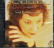 CD album: Fanny Mendelssohn-Hensel: das jahr. Sarah Rothenberg. arabesque. C5