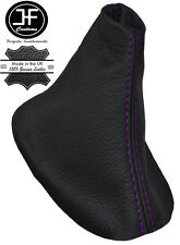 Engranaje De Cuero Púrpura Costura Auto automático Polaina cabe FORD S-MAX FL 2010-2015