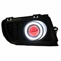 COB CCFL Angel Eyes Halo Foglights Projector Lens Fit For Mazda 6 2006-2008