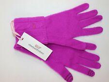 Vineyard Vines Xs/s Women's Pink Begonia 100 Cashmere Wrist Text Glove