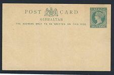 Gibraltar Reina Victoria de 1886 a 1898 una colección única de enteros postales