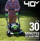 Greenworks  Lawnmower 40V 21 in. / 5.0 Ah Battery W/ Charger / NEW 10/10