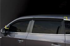 Smoked Window Visor Sun Rain Vent Guard K-901-112 for Chevy Orlando 2011~ 2016