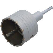 110mm SDS Core Drill Bit & Pilot Drill Hardened Steel Great Value!