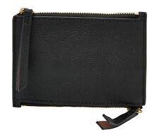FOSSIL Caja Dominante Mini Double Zip Black