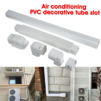 Air Conditioning PVC Decorative Tube Flat Bend Soft Hose Duct Slot Pipes System