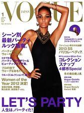 VOGUE Japan 01/2013 JOAN SMALLS Daga Ziober JULIA FRAUCHER Caroline Meijer @NEW