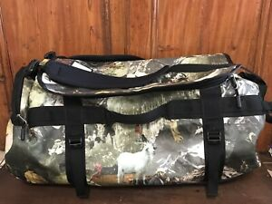 Rare The North Face Base Camp Duffle Bag Large Bag With Straps 95 L