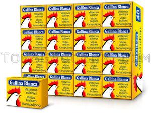 Gallina Blanca Chicken Soup Cubes Fast Preparation Bouillon Broth