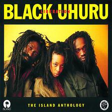 BLACK UHURU - Liberation The Island Anthology NEW SEALED 2CD SET REGGAE