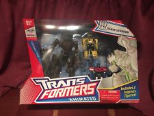 Transformers Animated Stealth Lockdown (w/Bumblebee & Optimus Legends) MISB