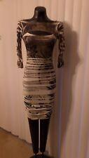 Nice Ladies Body Central stretch body con top/mini botantical print dress -Small