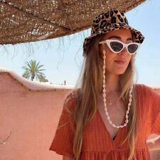 Natural Sea Shell Chain Sunglasses Rope Accessories Neck Strap Cord Holder Style