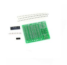 1PCS Skill Training SMD SMT Components Practice Board Shield Kit For DIY