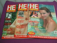 H&E Vintage Naturist Magazines  2006 X 3