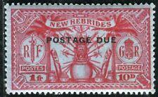 NOUVELLES HEBRIDES PORTO 1925 Yvert TT 10 ** POSTFRISCH TADELLOS (D7420